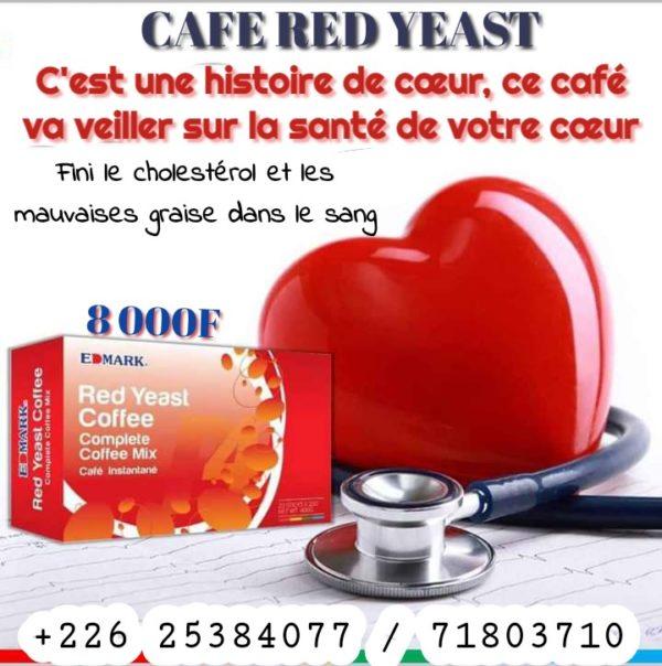 Edmark RED YEAST CAFE UDE-AFRIQUE