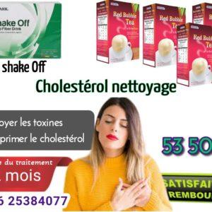 Cholestérol suppression avec produits edmark