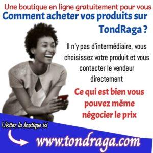 Comment faire du shopping sur Tondraga?