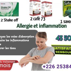 Allergie et Inflammation traitement edmark produits